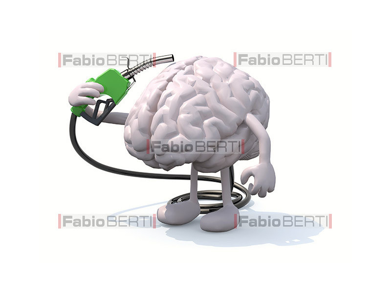 brain with gas pump
