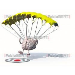 cervello paracadutista