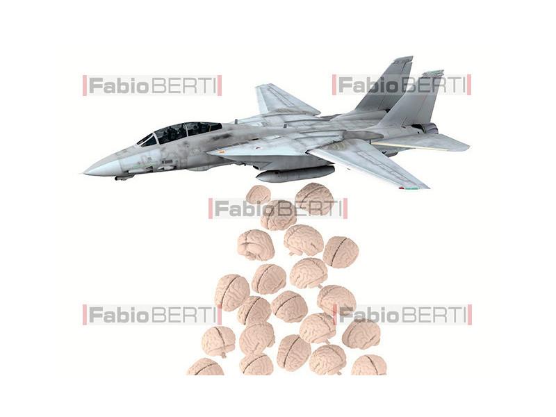 warplane that launches Brains