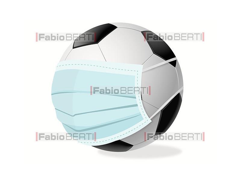 pallone con maschera