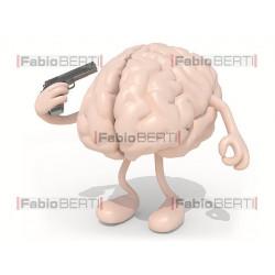 suicidio cervello