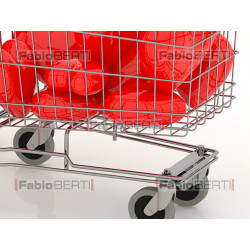 heart with shopping cart
