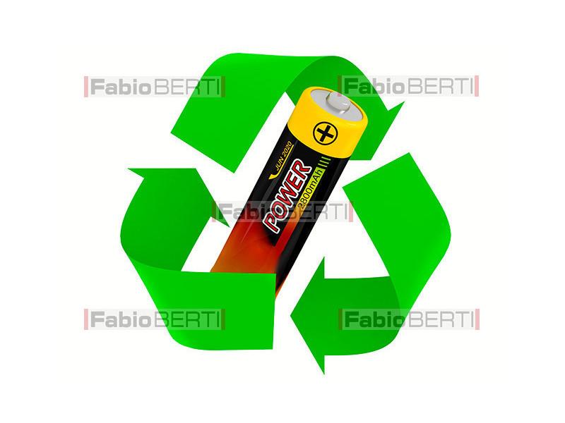 riciclo batteria