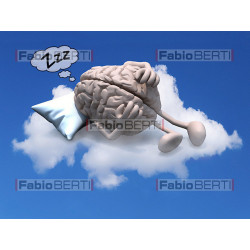 brain on a cloud