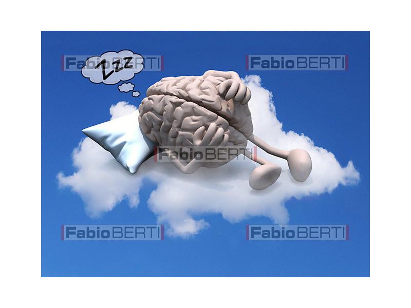 cervello su nuvola