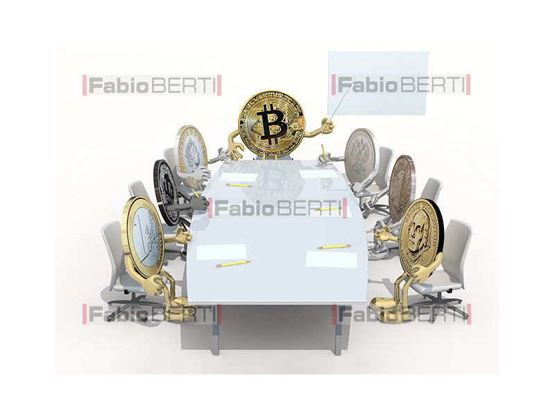 meeting of coins in the table