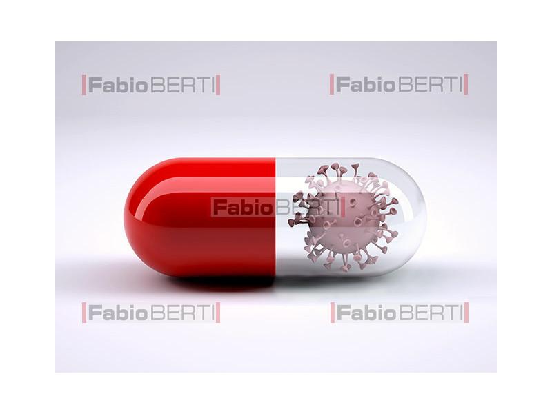 pillola con virus