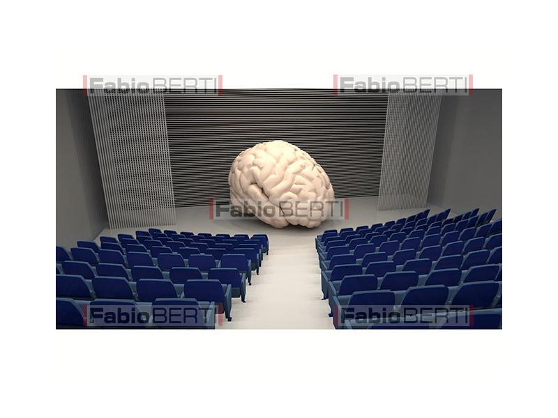 cervello sul palco