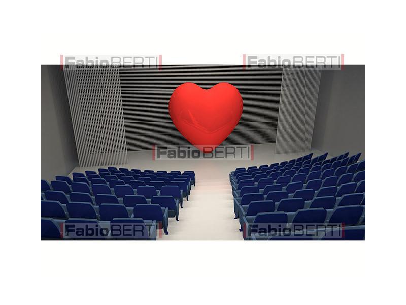 cuore sul palco