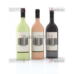 bottiglie di vino codice a barre