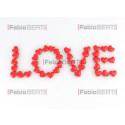 scritta love cuori