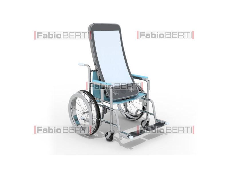 smartphone in wheelchair