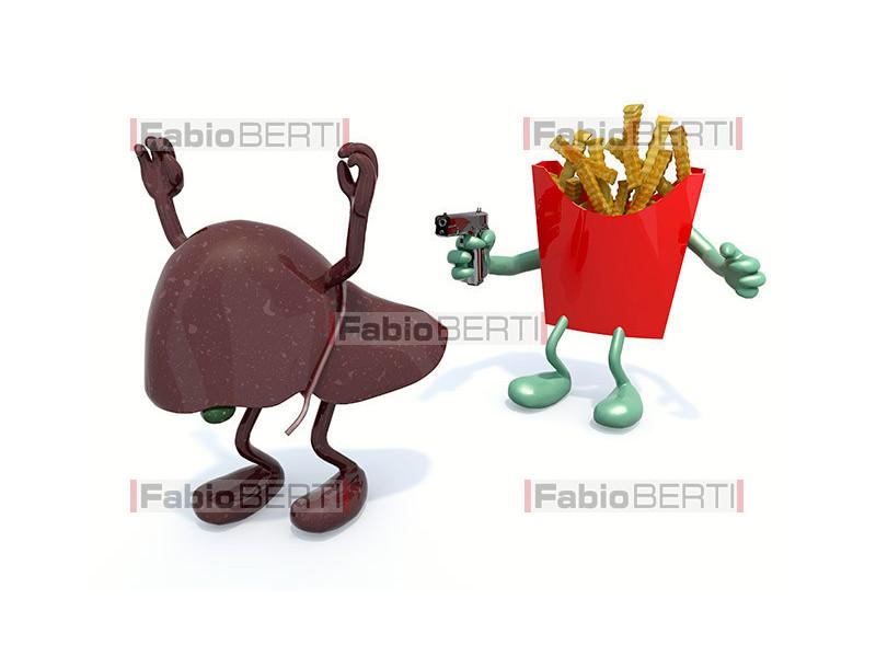 patatine contro fegato