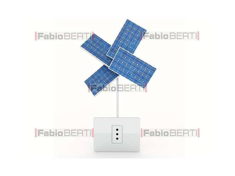 solar panels plug