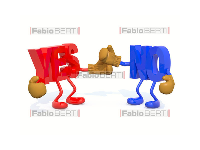 combattimento del yes e del no