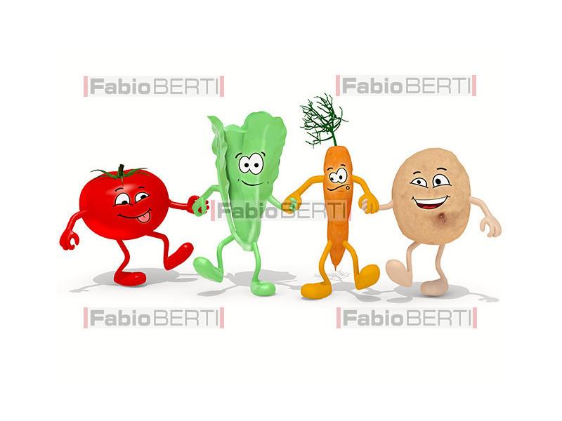 verdure per mano