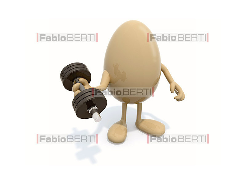 egg with weight