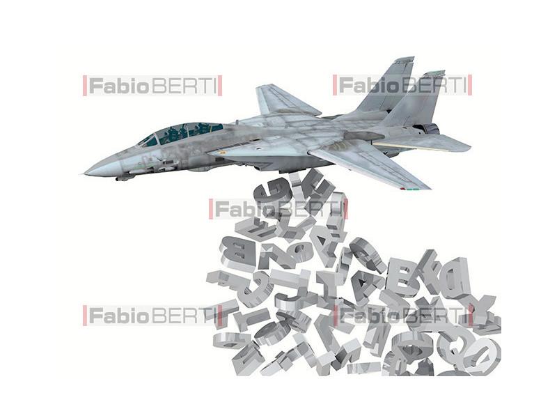 warplane launching fonts