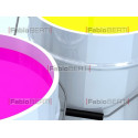 CMYK color bins