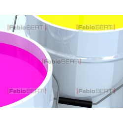 CMYK color bins