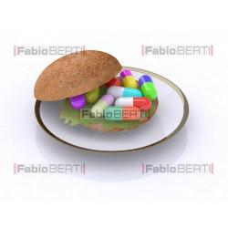 sandwich with pills 2