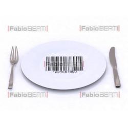 piatto codice a barre