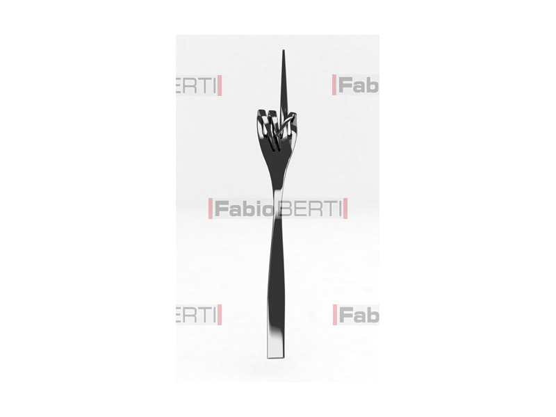 metal fork one