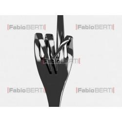 metal fork like hands