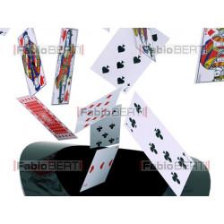 cards cylinder hat