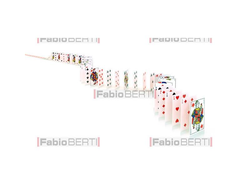 carte in fila 3
