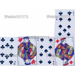 cornice di carte da gioco