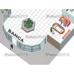 planimetria banca