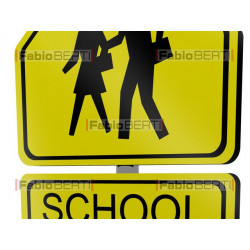 school traffic sign