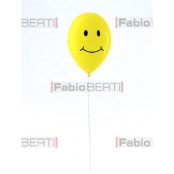 yellow balloon smile