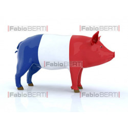 pork with French flag