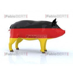 pork with German flag