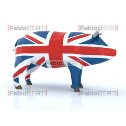 pork with English flag