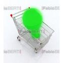 bulb in shopping cart
