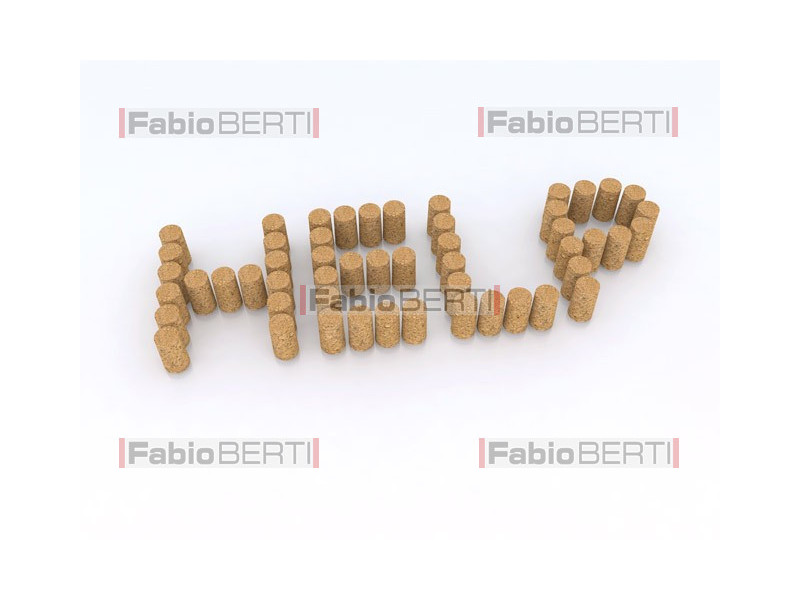 written help with corks