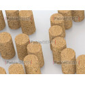 written sos with corks
