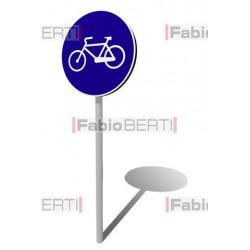 cartello bicicletta