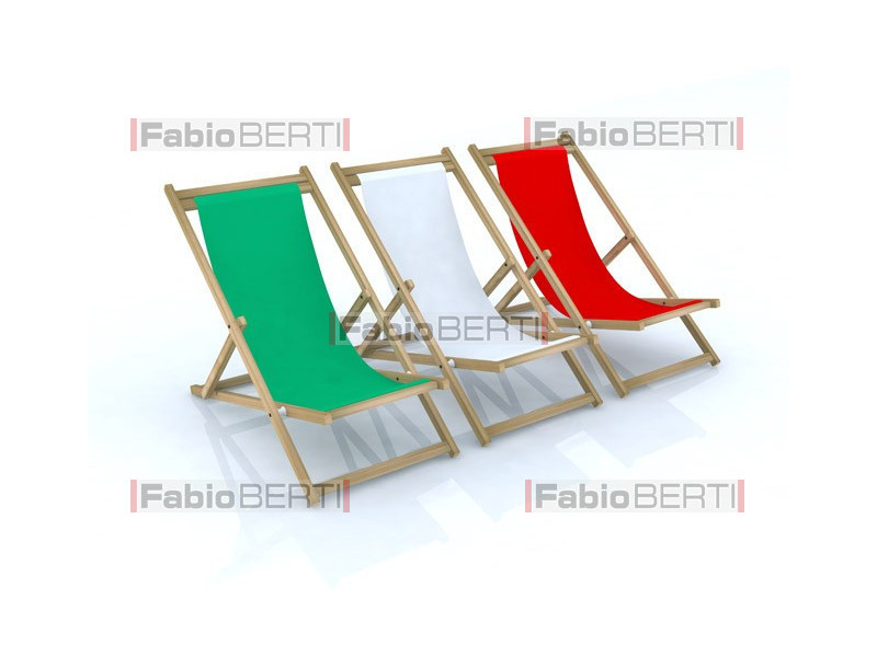 beach chairs Italy