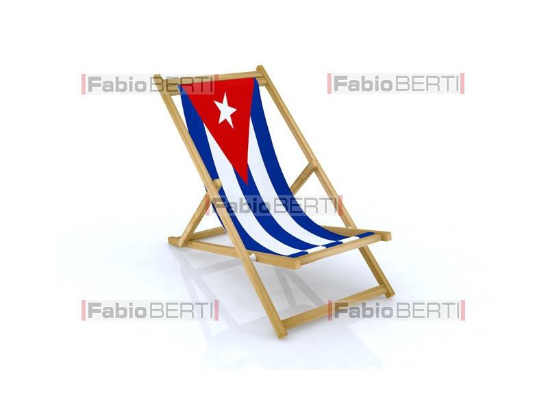 beach chair Cuba