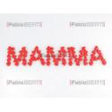 written mamma with hearts