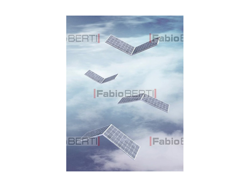 solar panels that fly