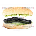 gun in the sandwich
