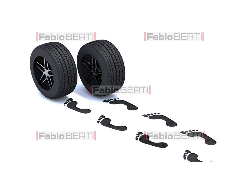 footprints tire