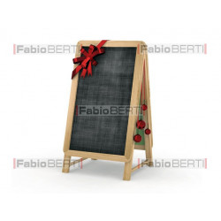christmas restaurant blackboard