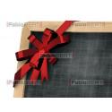 christmas restaurant blackboard