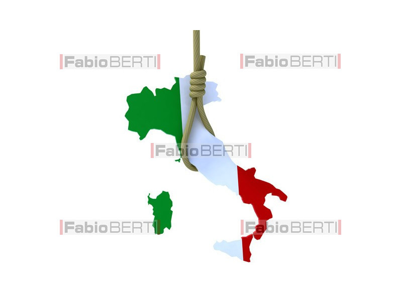 Italy suspended